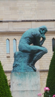 The Thinker! Seen in Musée Rodin of Paris