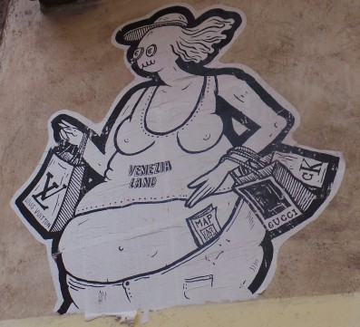 My favorite for its social commentary, seen in Venice