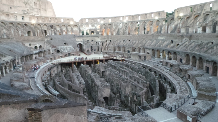Exclusive tours of the Colosseum.