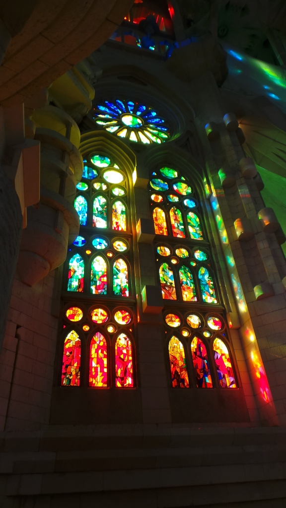 Window at Sagrada Familia