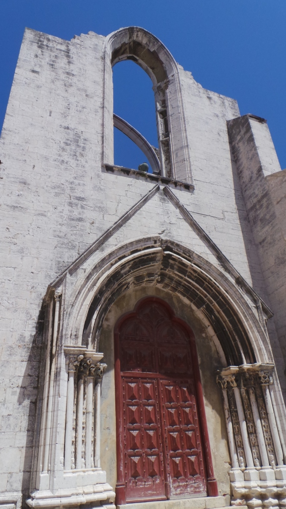 Carmo Church: Losing its roof in Lisbon's 1755 earthquake, but otherwise unharmed, this church remains roofless to this day in honor of those who lost their lives during the natural disaster.