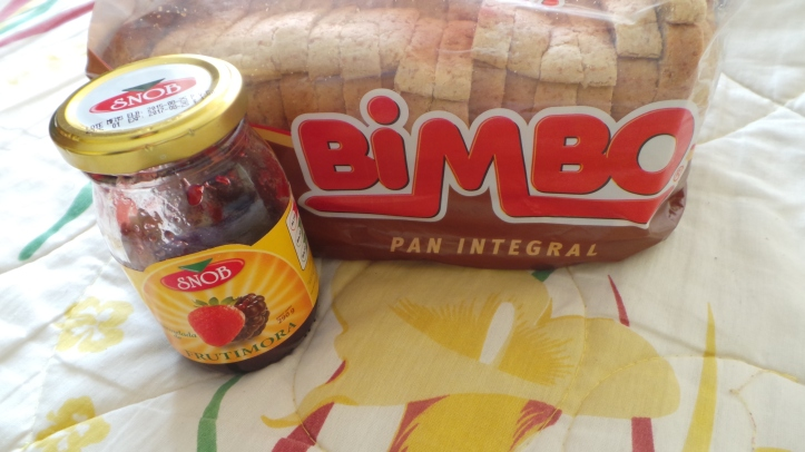BiMBO bread and SNOB jelly.