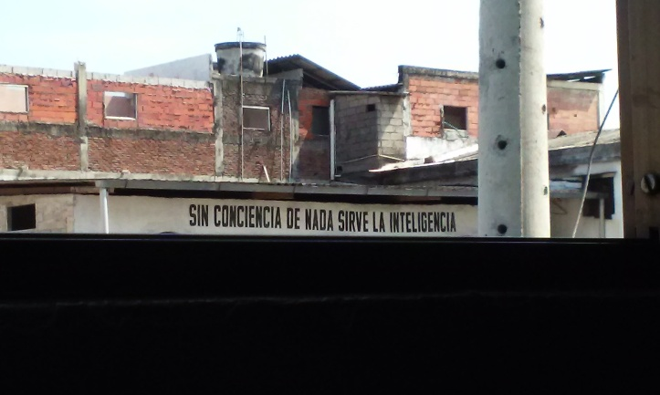 Seen from the window of the guest house I stayed at in Guayaquil
